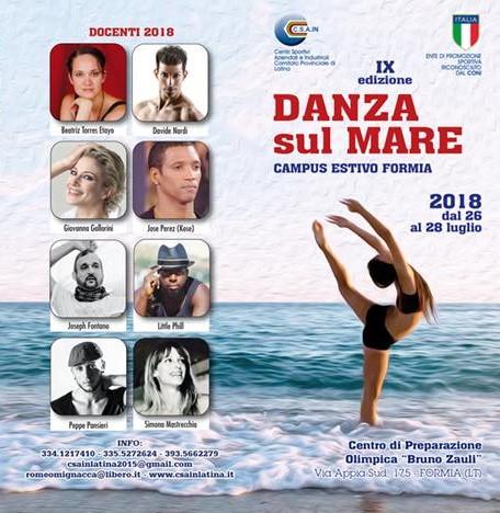 DANZA SUL MARE – Campus Estivo Formia IX edizione